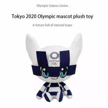 Tokyo Olympic Games Mascot Plush Toy Stuffed Doll