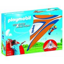 Playmobil 9205 Outdoor Action Orange Hang Glider