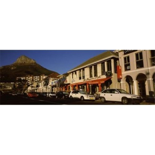 Traffic on the road  Lions Head  Camps Bay  Cape Town  Western Cape Province  Republic of South Africa Poster Print by  - 36 x 12