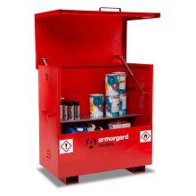 Armorgard FlamBank Flammable Liquids Safe Storage Site Chest Box - 1275x675x1270mm