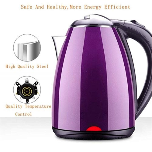 Electric Water Boilers 220V 2L Home/Kitchen Jug 1500W Pot Fast Kettle