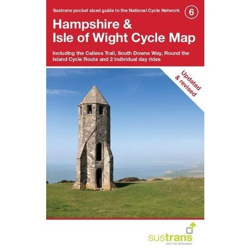 Hampshire & Isle of Wight Cycle Map (CycleCity Guides)