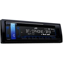 JVC KD-DB98BT - CD/MP3 Car stereo with Front USB/AUX input and built in Bluetooth, black