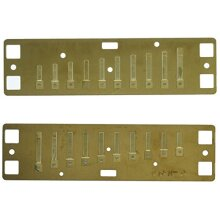 Lee Oskar 797141 Natural Minor Replacement Tuning Plates/Reed Plates, Ab