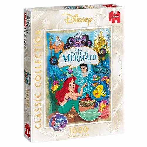 Jumbo Disney Classic Collection The Little Mermaid 1000 Piece Jigsaw Puzzle
