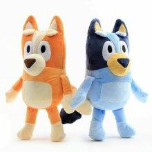 2pcs Kids' 28cm Bluey & Bingo Plush Toys