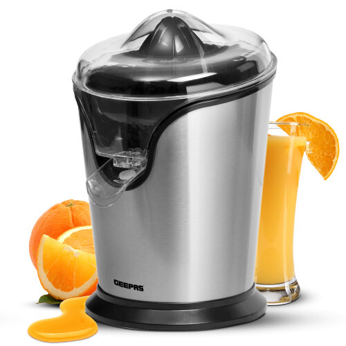 Geepas 100W Citrus Juicer Electric Orange Juicer - Electric Squeezer