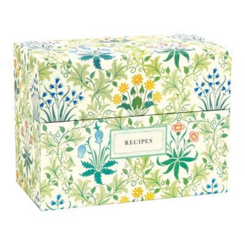 VA William Morris Recipe Box by William Morris