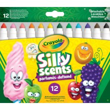 Crayola Silly Scents Broad Line Markers (Pack of 12)