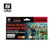 VAL70164 - AV Vallejo Model Color Set - French Infantry Napol Wars(8)