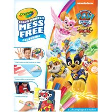 Crayola Colour Wonder Paw Patrol Colouring Set