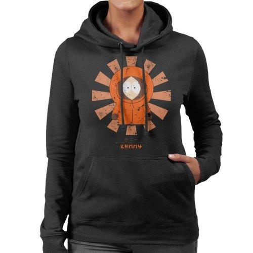 South Park Kenny Retro Japanese Women's Hooded Sweatshirt