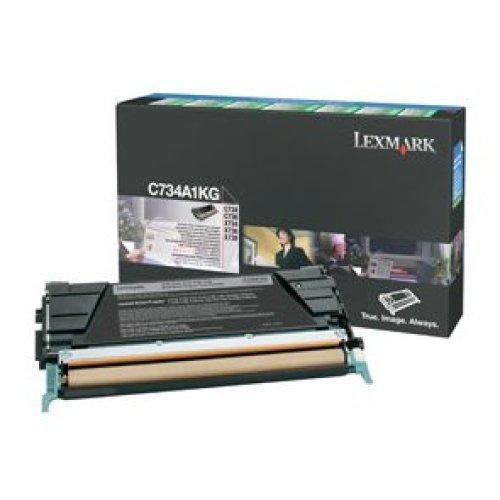 LEXMARK C734A1KG Toner black, 8K pages