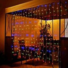 Mason & Jones LED Curtain 192pk - Multi