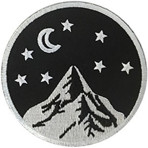 Patch - Outdoors - Moon & Stars Icon-On p-dsx-4849