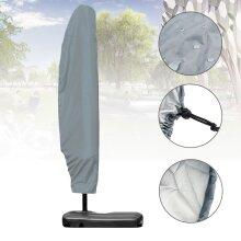 Large Outdoor Parasol Banana Cantilever Umbrella Waterproof Covers