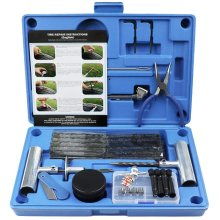 MAIKEHIGH Heavy Duty Tyre Puncture Repair Kit For Auto Motorcycle 67Pc