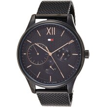 Tommy Hilfiger Damon Men's Watch TH1791420 Black, New with Tags