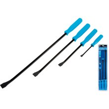 Bluespot 4pc Pry Crow Lever Bar Set Wrecking Puller Tool 200 300 450 600mm bars