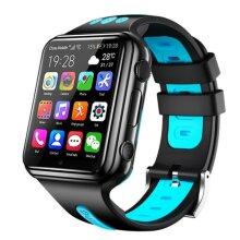 Smart watch women men 4G Camera GPS Student Video Monitor Smart Watches(Blue)