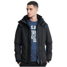 Superdry Pop Zip Arctic SD-Windcheater Jacket Black/Super Denby