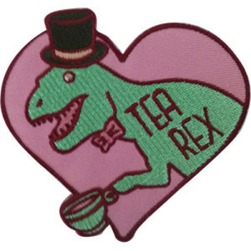 Patch - Dinosaurs - Tea Rex Icon-On p-dsx-4812
