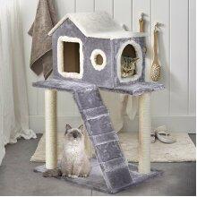 Cat Scratching Post Scratcher Kitten Climbing Play Activity Center