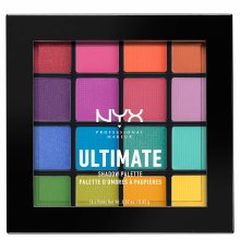 NYX Professional Makeup Ultimate Shadow Palette Define Your Eyes - Brights