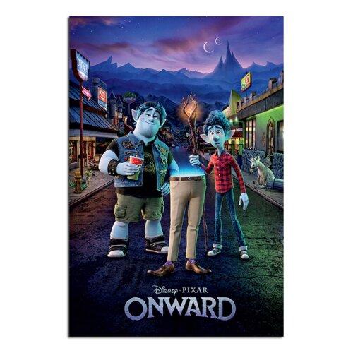 Onward Disney Pixar Poster