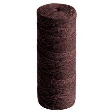50m Dark Brown 4 Ply Jute Thread for Macrame or Dreamcatcher Crafts