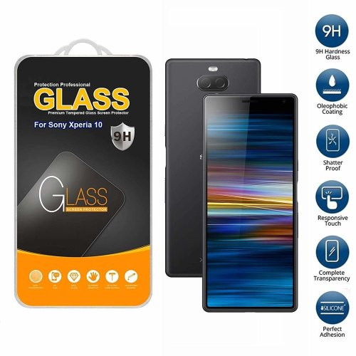 Screen Protector Tempered Glass For Sony Xperia 10