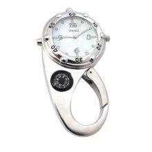 Timesco Carabiner Clip Fob Watch