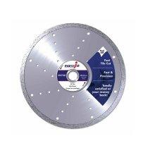 Marcrist 1125.1180.25 CK750 Diamond Blade Smooth Tile Cut 180mm x 25.4mm Machine