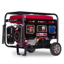 Bohmer-AG 8000W-e Petrol Generator Electric Key Start 7.5kW 9.5kVA | Quiet Portable Power