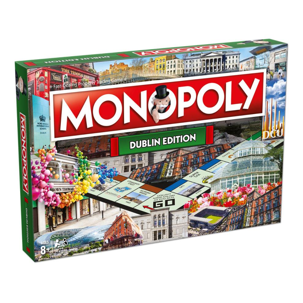 Dublin Monopoly Board Game
