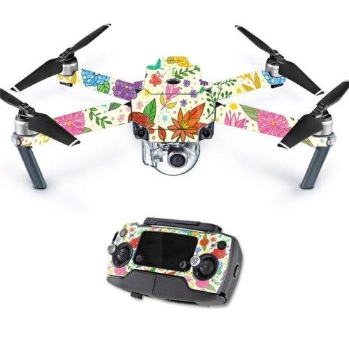 MightySkins DJMAVPRO-Flower Garden Skin Decal Wrap for DJI Mavic Pro Quadcopter Drone Cover Sticker - Flower Garden