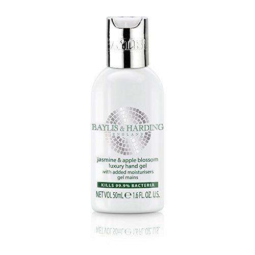 Baylis & Harding Jasmine & Apple Blossom Luxury Hand Gel 50ml Travel Size