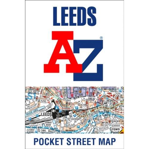 Leeds A-Z Pocket Street Map by A-Z maps