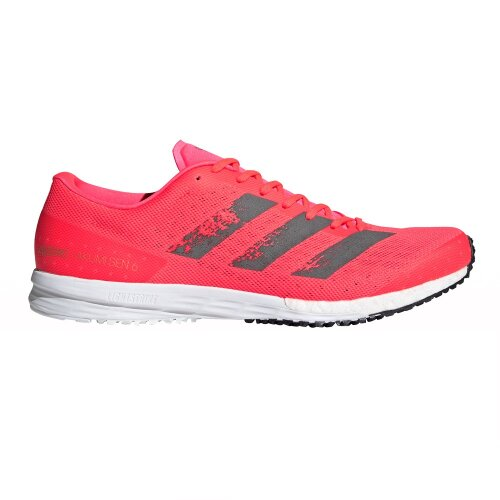 Adidas Men's Adizero Takumi Sen 6 Running Shoes, Red