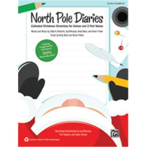 Alfred 00-35728 NORTH POLE DIARIES-BK&CD