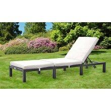 Outdoor Rattan Day Bed Sun Lounger Recliner Chair