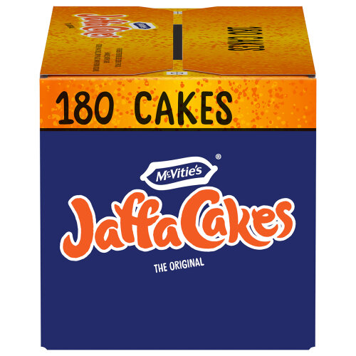 McVities Jaffa Cakes180 Cakes 6 Packs of 30 Biscuits Special Price