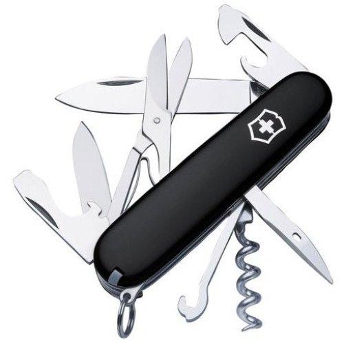 Victorinox Climber Black 14 Tools Swiss Army Knife. New