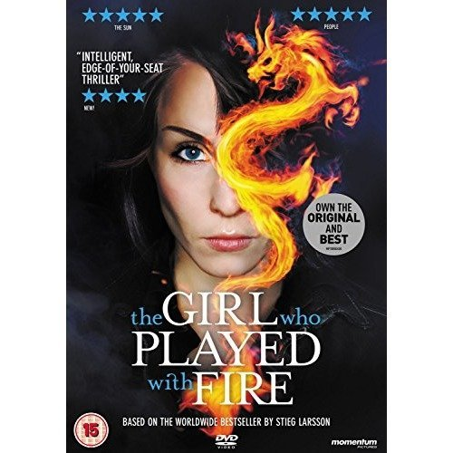 The Girl Who Played With Fire DVD [2011]