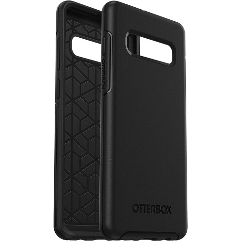 OtterBox Symmetry Series, Sleek protection, slimmer, thinner and lighter for Samsung Galaxy S10+ - Black