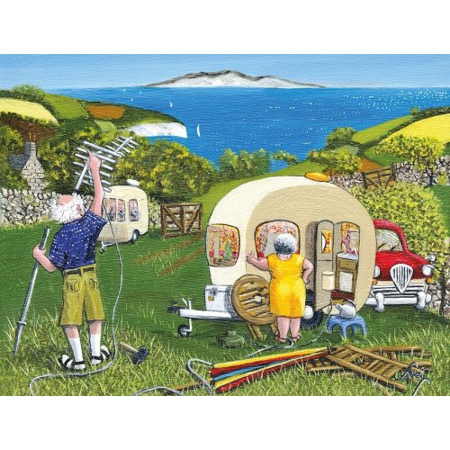 Happy Campers 1000pc Jigsaw Puzzle