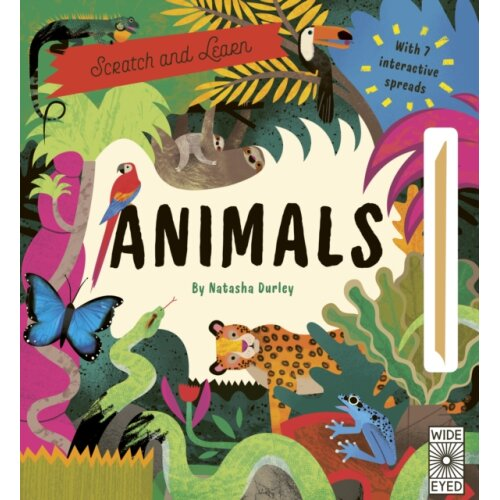 Scratch and Learn Animals by Brownridge & Lucy