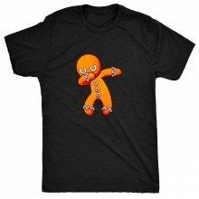 8TN Dabbing Ginger Bread Man Gingerbread Funny Unisex-children T Shirt