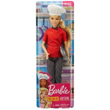 Barbie FXN99 Chef Doll with Frying Pan, Multi-Coloured