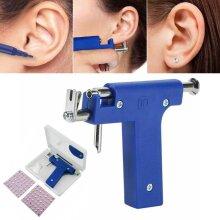 Ear Body Piercing Gun Tool Ear Nose Navel Gun Machine 98Pcs Studs Tools